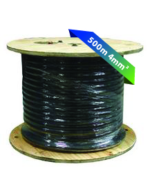 500m Cable 4mm²